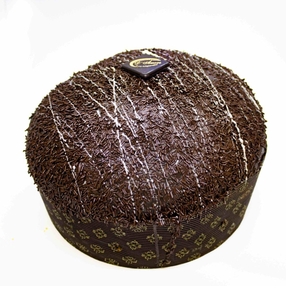 Panettone Glassato al Cioccolato